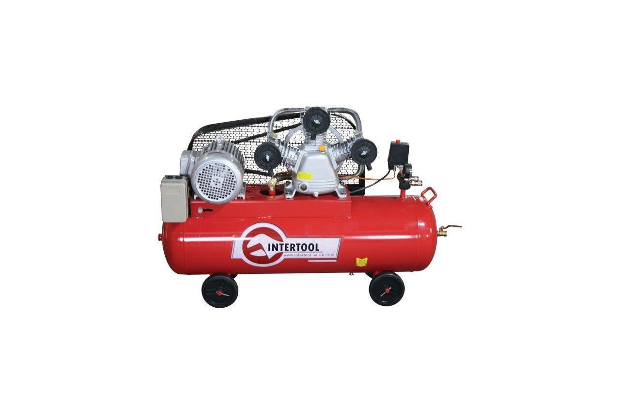 Компрессор Intertool - 100 л x 4 кВт
