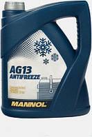Антифриз Mannol Hightec Antifreeze AG13 -80 ˚C концентрат зеленый (5л)