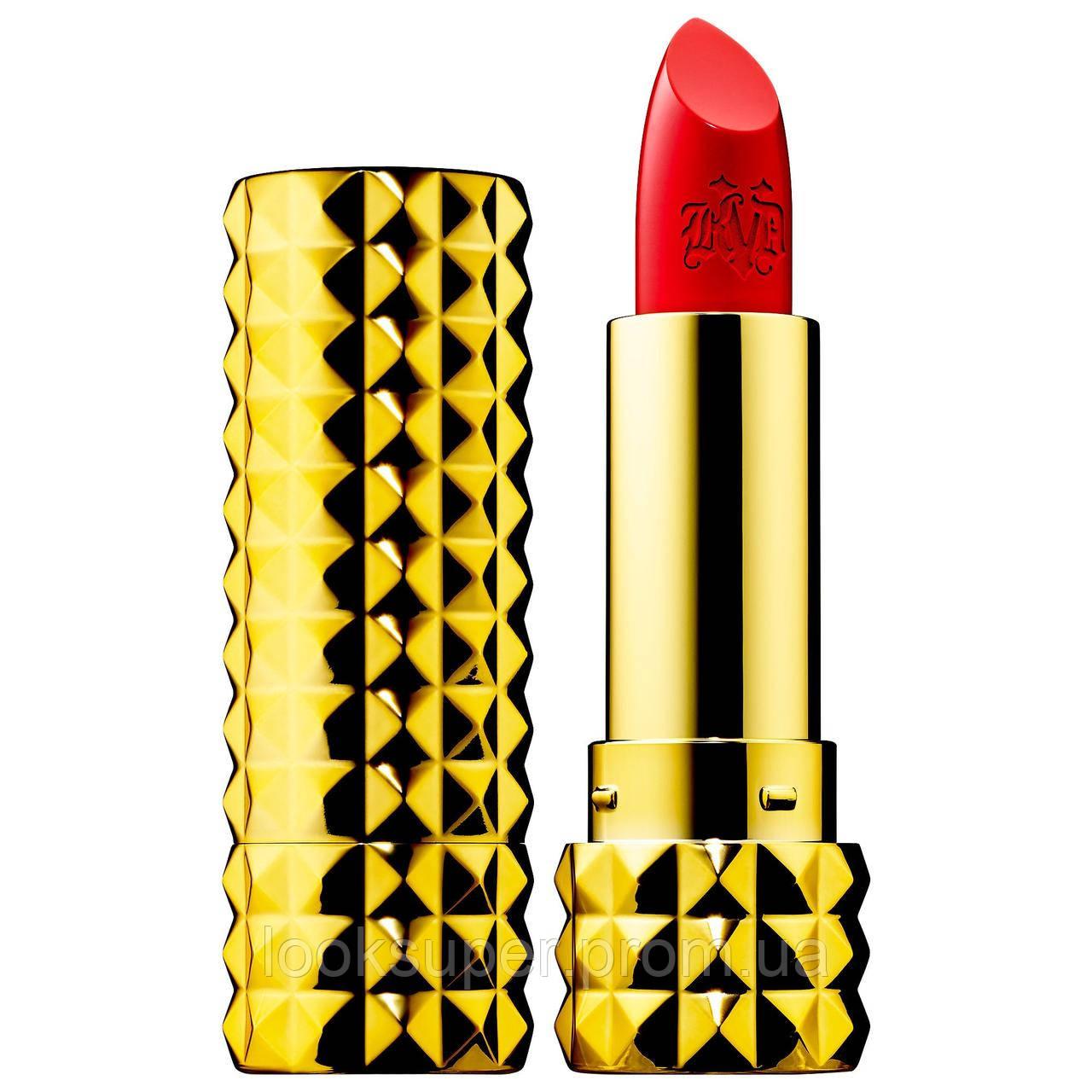 Помада для губ KAT VON D 10th Anniversary Studded Kiss Crème Lipstick SANTA SANGRE 3.4g