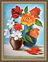 Картина в багетной раме Букет Цветов 300х400 мм №651