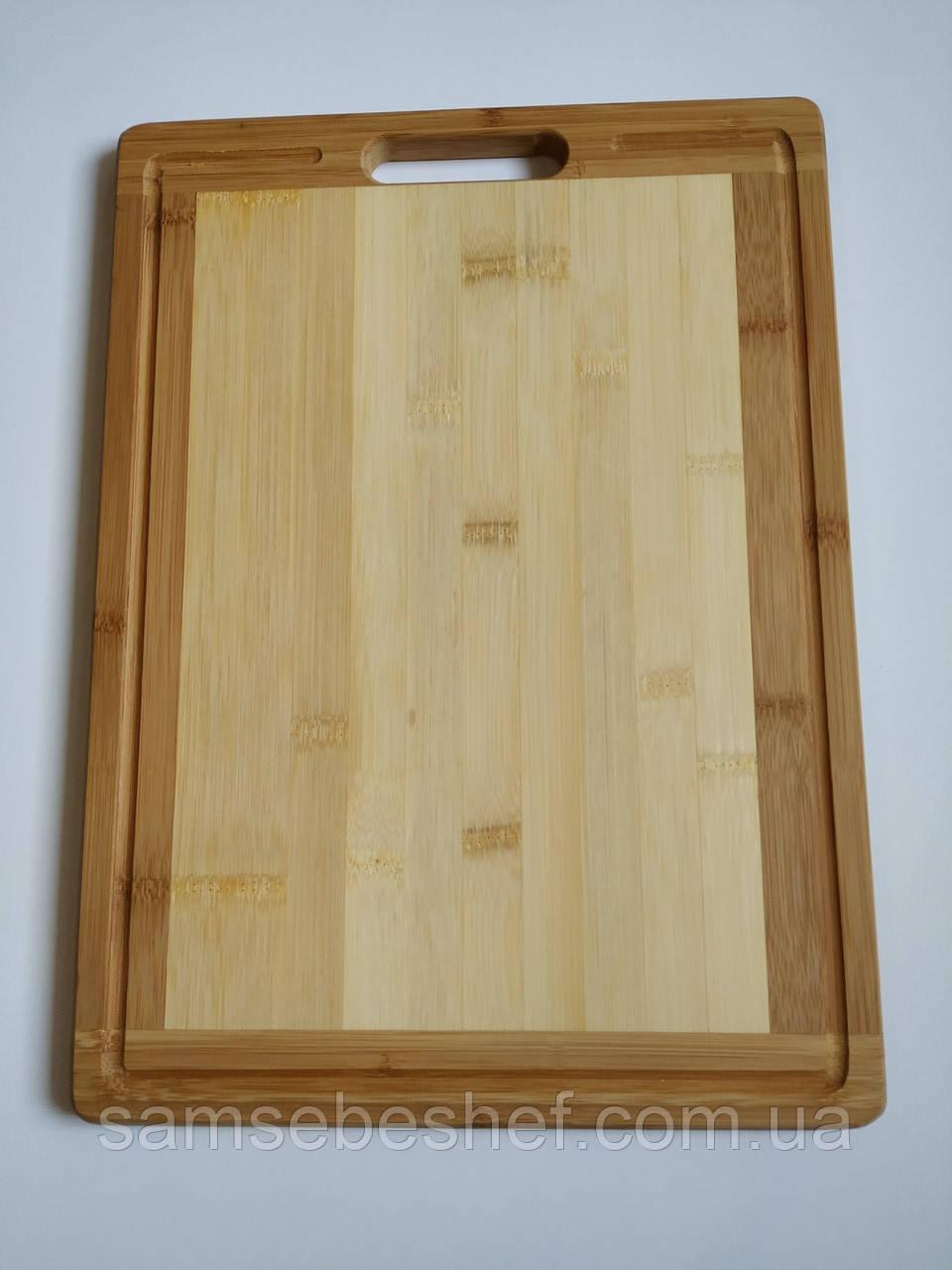 Доска разделочная бамбуковая GA Dynasty 39.5*29*1.8 см 193003