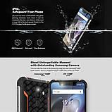 Мобильный защищенный смартфон Homtom z33 orang 3+32 gb, фото 5