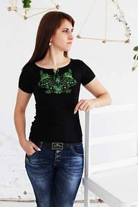 Вишита жіноча футболка Весна А-5