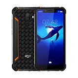 Мобильный защищенный смартфон Homtom z33 orang 3+32 gb, фото 2