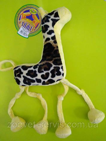 Игрушка для собак Жираф, фото 2