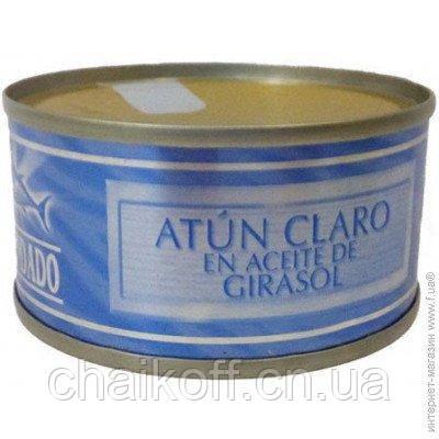 Тунец в подсолнечном масле Hacendado Atun Claro En Aceite De Girasol 80 г (Испания)