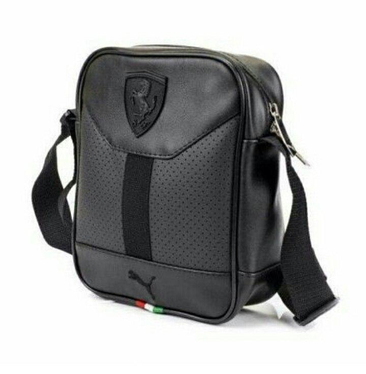 56661f082804 Стильна сумка через плечо, барсетка Puma Ferrari, пума ферарі. Черная, цена  220 грн., купить в Одессе — Prom.ua (ID#882950994)