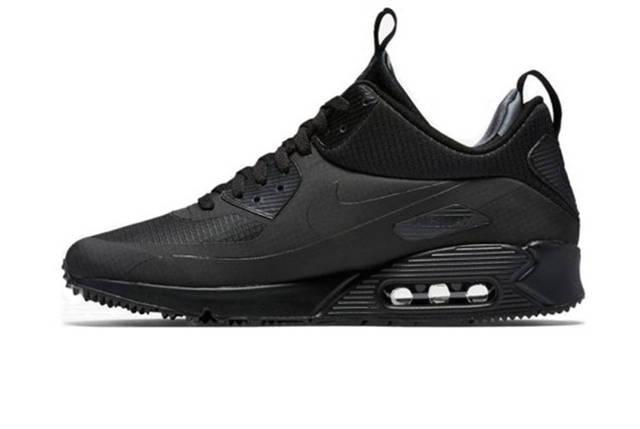 Мужские кроссовки Nike Air Max 90 Mid Black, фото 2