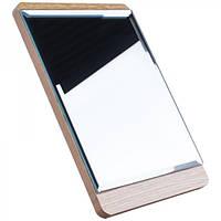Зеркало для макияжа Cosmetic mirror №R-36, деревянное