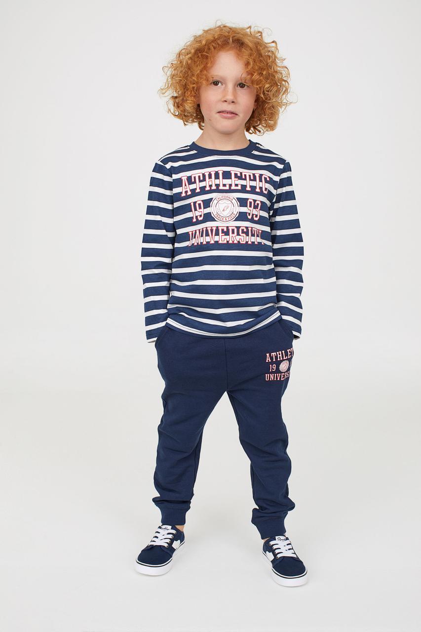 Спортивный костюм на мальчика H&M Швеция Размер 110-116