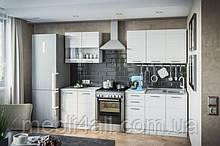 Кухня Бьянка (белый глянец) комплект
