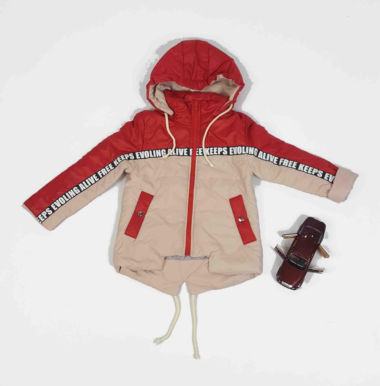 Куртка весна-осень код 1-9 размер 104-122 (3-6 лет)