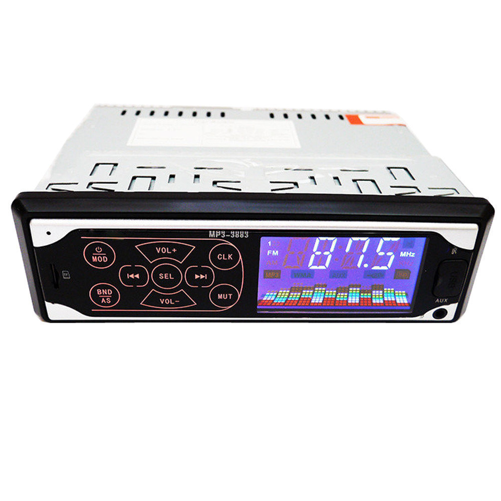 Автомагнітола MP3 3883 ISO, 1DIN сенсорний дисплей, Автомагнітола з пультом, Автомобільна магнітола сенсорна