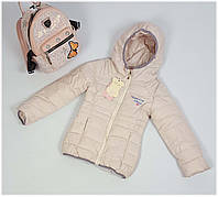 Куртка для девочки  1863 весна-осень, размеры на рост от 134 до 140 возраст от 9 до 11 лет, фото 1