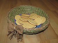 Тарелка из сена