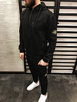 Мужской спортивный костюм черный ТОП качество , фото 1