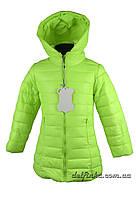 Куртка удлиненная,  демисезонная, размеры   от 98 до 116, фото 1