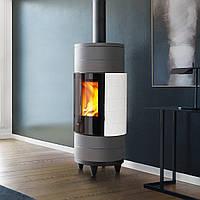 CIRCLE BCS 7,2 кВт (Регулювання полум'я) - Піч на дровах Piazzetta Італія, фото 1