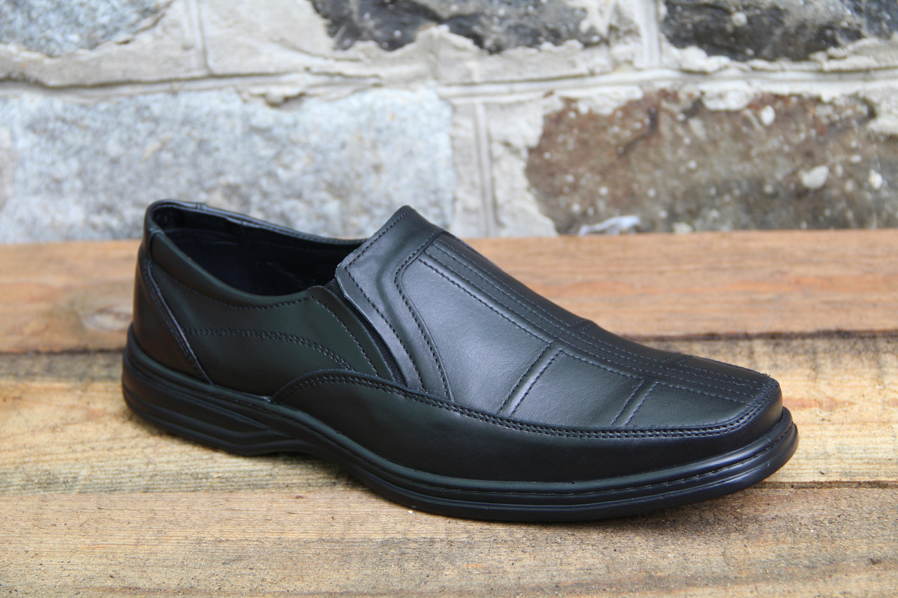 Мужские туфли комфорт Walker натур кожа 016/19