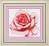 Набор для рисования камнями (холст) Роза LasKo