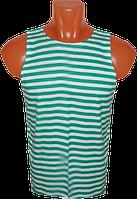 Тельняшка зеленая (пограничник)