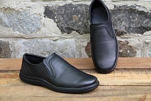 Мужские туфли комфорт Walker натур кожа 018/19