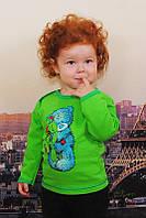 Детская кофта с начесом  разные рисунки и цвета