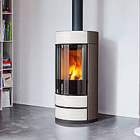 ROUND 7,9 кВт - Печь на дровах Piazzetta Италия, фото 1