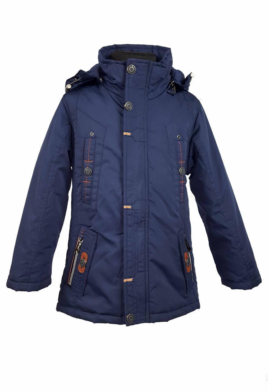 Куртка 016 весна-осень размеры на рост 128 до 152 (116 до 146)