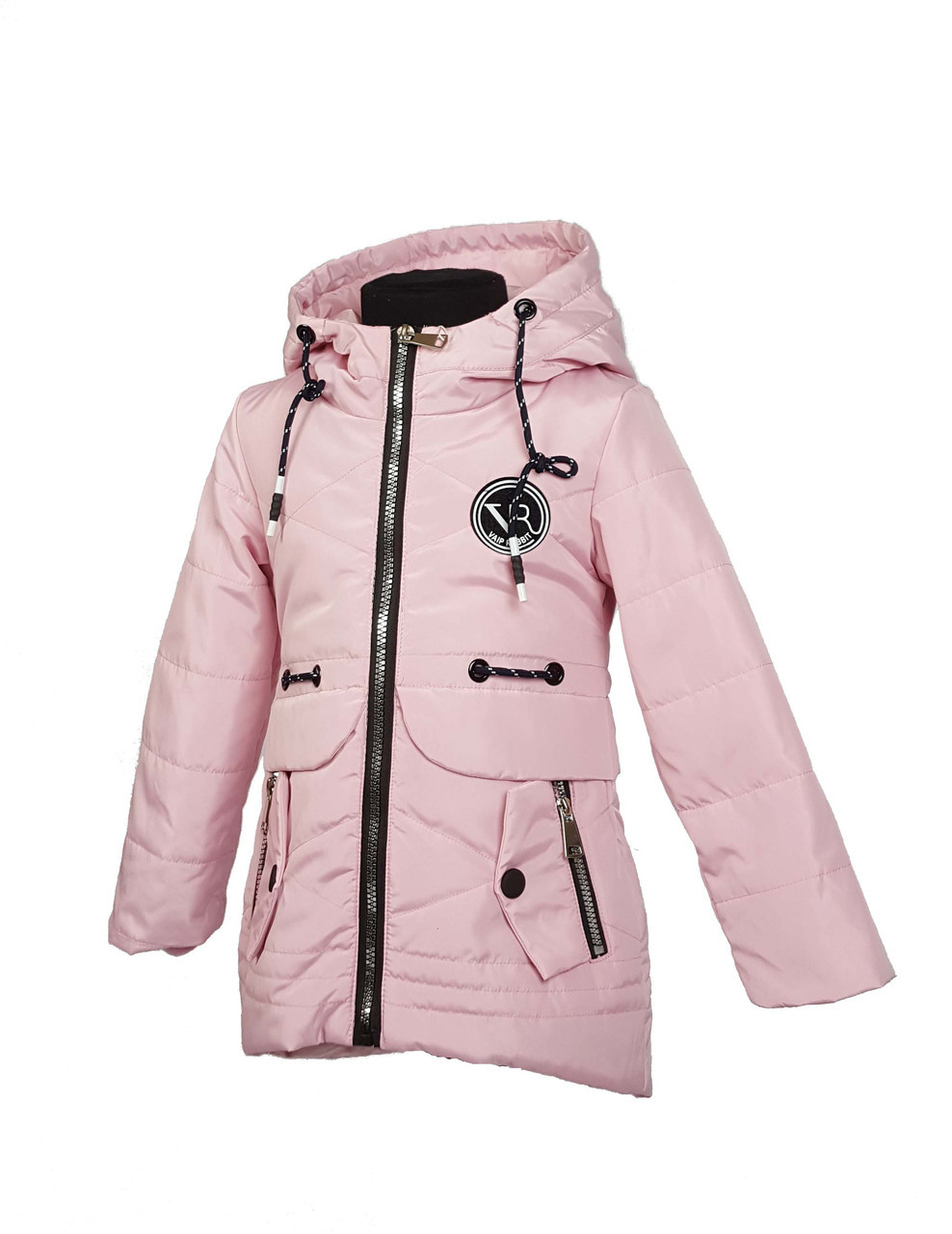 Куртка для девочки  1927 весна-осень, размеры на рост от 98 до122 возраст от 3 до 6 лет