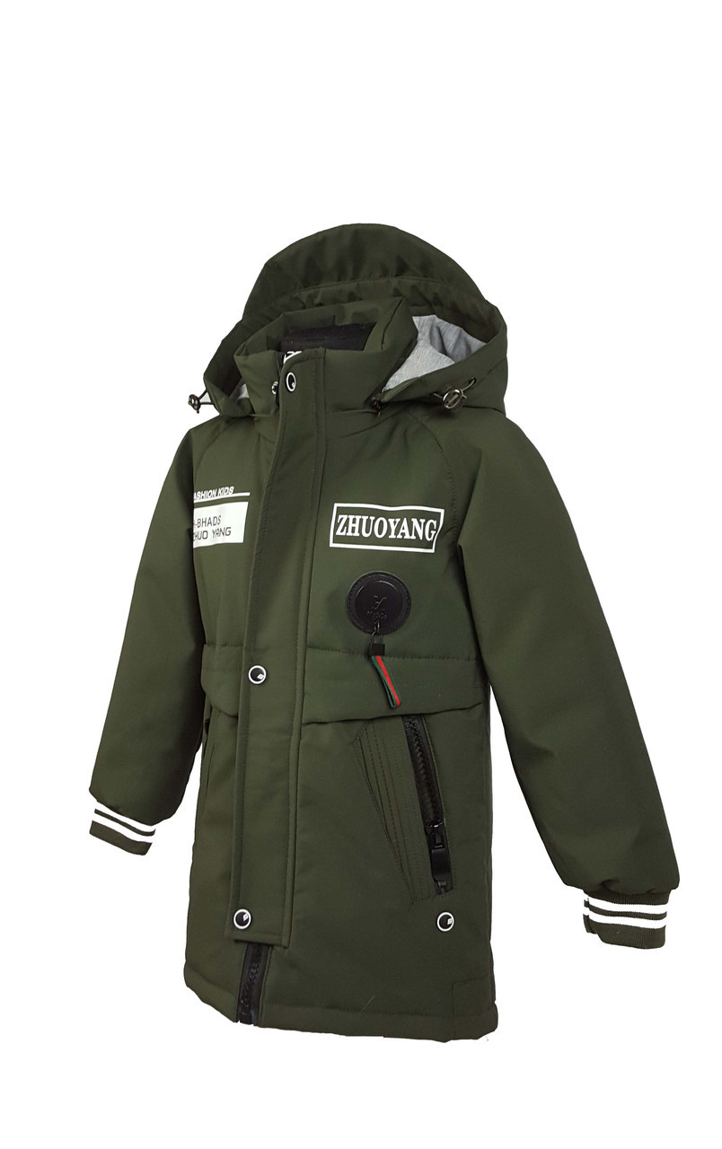Куртка для мальчика  822 весна-осень, размеры на рост от 104 до 128 возраст от 4 до 7 лет