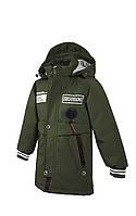 Куртка для мальчика  822 весна-осень, размеры на рост от 104 до 128 возраст от 4 до 7 лет, фото 1