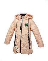 Куртка для девочки  1805B весна-осень, размеры на рост от 92 до 116 возраст от 1 до 5 лет, фото 1