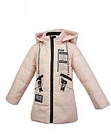 Куртка для девочки  1803B весна-осень, размеры на рост от 92 до 116 возраст от 1 до 5 лет, фото 1