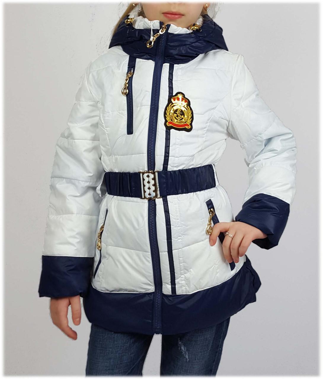 Куртка для девочки  15-02 весна-осень, размеры на рост от 140 до 164
