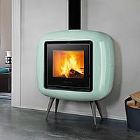 BONNY 9 кВт - Печь на дровах Piazzetta Италия