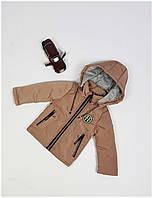Куртка для мальчика  HC 214 весна-осень, размеры на рост от 74 до 98 возраст от 1 до 4 лет, фото 1