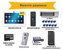 Комплект  видеодомофона NEOLIGHT ALPHAHD с контролем доступа на двери с электромагнитным замком