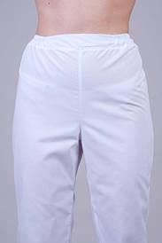 Женские медицинские брюки батист 610 ( 40-64 р-р )