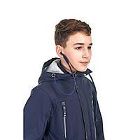 Весення куртка на мальчика от 9 до 14 лет, куртка с наушниками