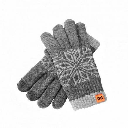Xiaomi Mi Wool Touch Gloves Grey XMST01MT (XFL4003CN), фото 2