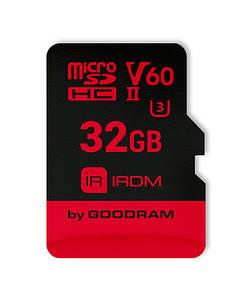 Карта памяти MicroSDHC 32GB UHS-II/U3 GOODRAM