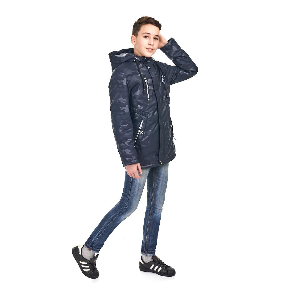 Осенняя курточка на мальчика  10-15 лет, размеры 140-164