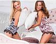 Пижама велюровая с кружевом , фото 3