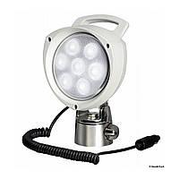 Прожектор 7 LED х 3W, переносной, на шарнирном креплении, 12В/24В