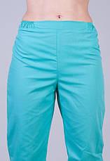 Женские медицинские брюки батист 610 ( 40-64 р-р ), фото 2