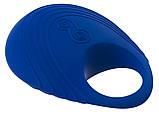 Виброкольцо на пенис Per Due  (синее), фото 3