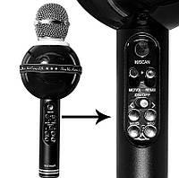 Беспроводной микрофон-караоке WSTER WS-878,ОТЛИЧНЫЙ ПОДАРОК ,ЧИСТЫЙ ЗВУК, фото 1