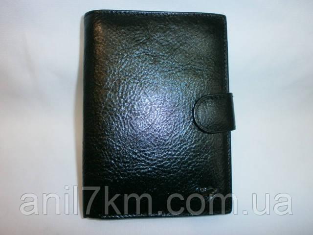 Чоловічий шкіряний гаманець для грошей і документів фірми BRAUN