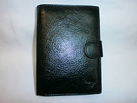 Мужской кожаный  кошелёк для денег и документов фирмы BRAUN